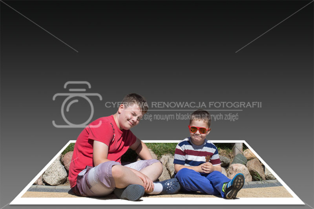 Fotomanipulacja - obraz 3D