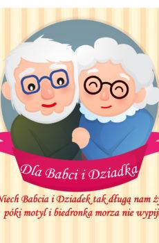 Kartka na Dzień Babci i Dziadka