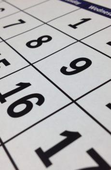 Kalendarze A4