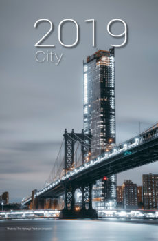 Kalendarz 2019 miasto