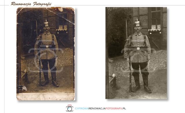 Renowacja starych zdjęć - Cyfrowa Renowacja Fotografii