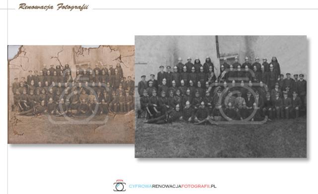 Renowacja starych fotografii - Cyfrowa Renowacja Fotografii