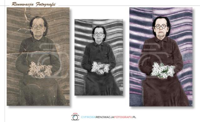 Renowacja i kolorowanie fotografii - Cyfrowa Renowacja Fotografii