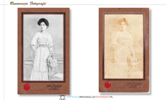 Renowacja wyblakłej fotografii - Cyfrowa Renowacja Fotografii