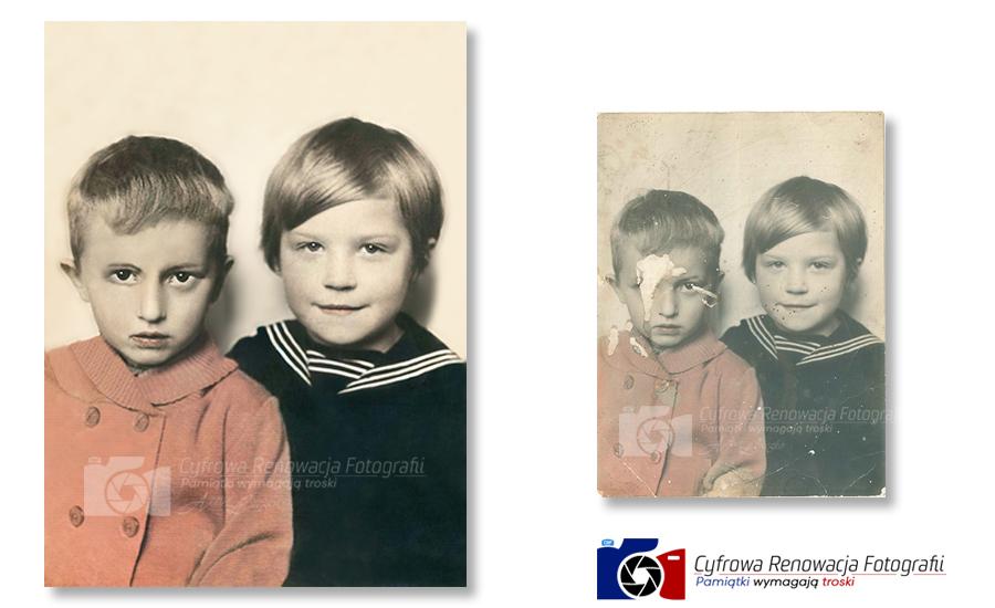 Rekonstrukcja portretu dzieci