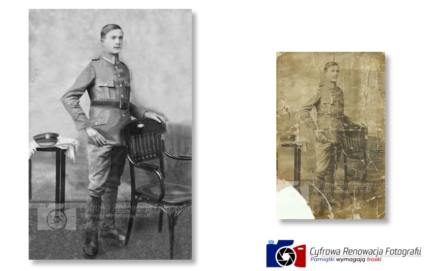 Rekonstrukcja portretu żołnierza